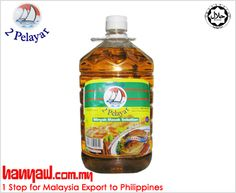 """Food tastes better when cooked in """"2 Pelayar Cooking Oil""""."""