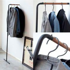 Zakka雜貨網: 極簡風格掛衣桿-黑