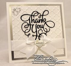 The Serendipitous Stamper: Wedding Thank You