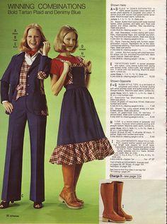 1976-xx-xx JCPenney Christmas Catalog P096 Seventies Fashion, 70s Fashion,  Junior e0b2bfd8aa0