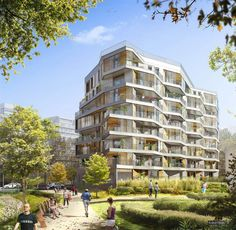 Architecture CG   1   by Steven Baconnais, via Behance