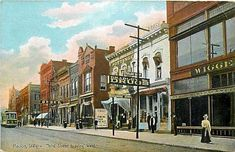 Marion Indiana Northside of Courhouse Square - (see Freel & Mason Drusgstore)