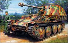 German Self-Propelled Gun: Marder III/M