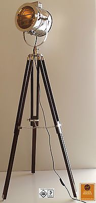 Floor Lamp - Decorative Vintage Design Tripod Spotlight - Home and Office£109 freepp
