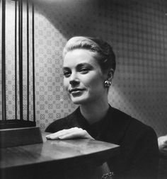 Grace Kelly photographed by Cecil Beaton, 1954