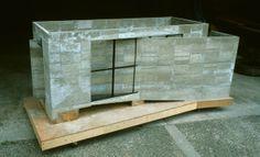 Tadao Ando (church of light)Model / scale: 1/10  materials: Mortar
