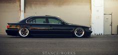 Bruised Egos – Jeremy Whittle's Black on Purple BMW Bmw 740, True Car, Bmw Vintage, Mercedes 190, Bavarian Motor Works, E 38, Bmw 7 Series, Classy Cars, Car Tuning