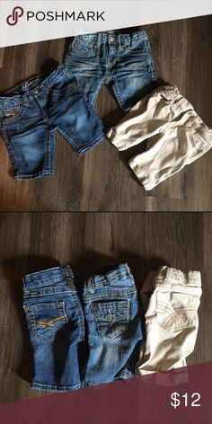 Z. Carvaaricci Bermuda style shorts bundle This is 3 pairs of shorts for little girl size 5 they all have adjustable waist and 2 are z. Cavaricci and one the khaki ones are Jordache.  They are in good condition no stains or rips Z. Cavaricci Bottoms Shorts