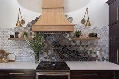Mercury Mosaics custom backsplash, handcrafted tiles | construction2style