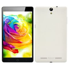 7 Inch HD Octa Core Android 4.4 Phablet smartphone white