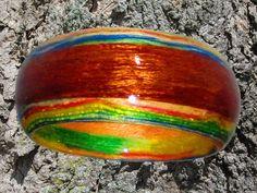 Wood ring.. $55.00, via Etsy.