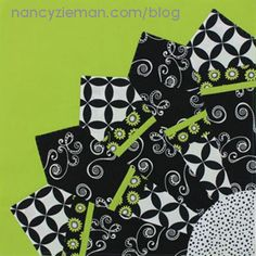 The Dresden quilt block is the first quilting pattern of the Block of the Month by Sewing With Nancy Zieman. Learn how to use quilting scraps to make quilt blocks. Dresden Plate Patterns, Rag Quilt Patterns, Pattern Blocks, Block Patterns, Quilting Blogs, Quilting Tutorials, Quilting Designs, Sewing Tutorials, Sewing Projects