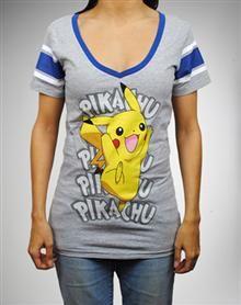 Pokemon Pikachu Hockey Tee - Totally want this