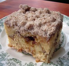 Easy Recipes to Cook at Home | Cooking | Baking | Grilling: Cinnamon Coffee Cake Recipe