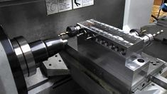 This is a quick video of the Pro Machine Works quick change gang tooling system for Haas and CNC lathes. Mini Cnc Lathe, Metal Working, Google, Metalworking