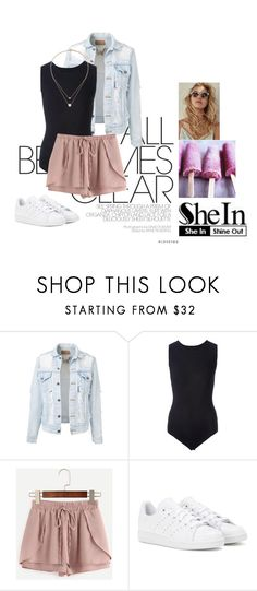 """""""The Sound"""" by ag18nese ❤ liked on Polyvore featuring Maison Margiela, adidas and Topshop"""