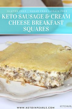 A popular breakfast dish gets a keto makeover. Only 2 carbs for 1 serving of this savory treat! A popular breakfast dish gets a keto makeover. Only 2 carbs for 1 serving of this savory treat! Cream Cheese Breakfast, Keto Diet Breakfast, Breakfast Dishes, Breakfast Recipes, Low Carb Breakfast Casserole, Low Carb Breakfast Easy, Breakfast Skillet, Bacon Breakfast, Breakfast Items