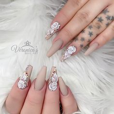 "492 Likes, 5 Comments - Veronica Vargas (@nails_by_verovargas) on Instagram: ""#christrionails #3dnaildesign #3dnailart #showmethemani #3d #nails #nailart #nails2inspire…"""