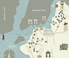 Brooklyn: 41 Reasons Fold Out Map | Two Arms Inc.