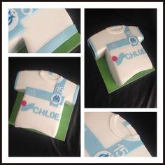 Gâteau Maillot de Football équipe OM