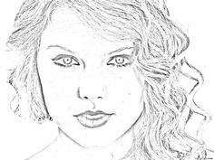 taylor swift coloring pages activity sheets, colouring pictures, printable images - Free Printable taylor swift coloring pages online Listed in New Coloring Pages