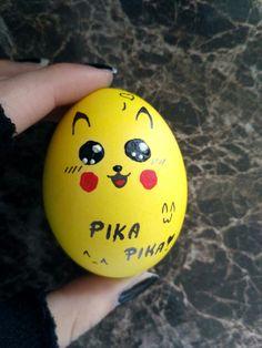 #Pikachu #PokémonEasterEgg #PikaPika #KawaiiEasterEgg #Kawaii