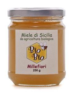 Miele Millefiori Primaverile (Miele chiaro) – BIO BIO Antonino Rocco – Sicilia Organic wildflower honey, Sicily, di Modica-Ispica and Ragusa between 200 and 400 m above sea level-Other Sicilian provinces