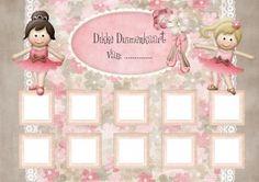 Dikke duimenkaart - Beloningskaart 9 - Ballet