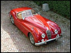 1956 Jaguar XK140MC Roadster    #MecumINDY