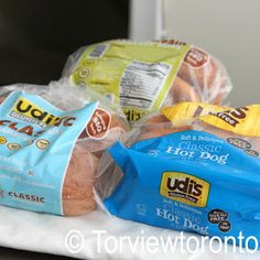 We buy their gluten free white sándwich Bread,hot dog buns,hamburger buns and their bagels!!! Yum!!!