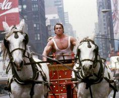 Most Embarrassing Past Movie Star Roles - Arnold Schwarzenegger in Hercules in New York