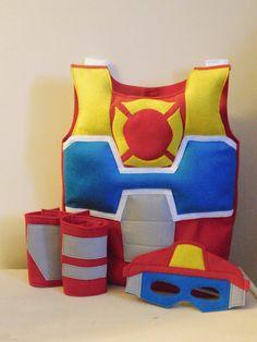 Boys Autobot Firefighter Costume//Rescue Bot Heatwave Inspired
