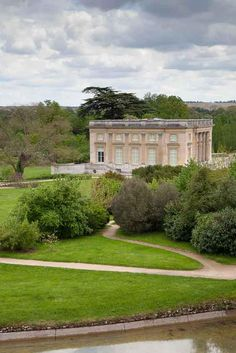 Palace of Versailles,  the Petit Trianon seen from the roof of the Belvedere  http://a-l-ancien-regime.tumblr.com/