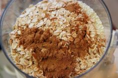 Oatmeal Cookies & Milk Bath    1 cup cornstarch  2 cups powdered milk  1/2 cup oatmeal (not instant)  1 teaspoon cinnamon    Mix all ingredients in blender or food processor until it is a fine powder. Just add 2 tablespoons of the mixture to your bathwater for a soothing bath.