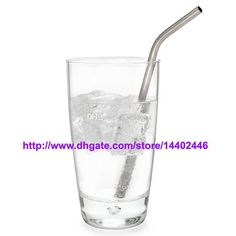 Made of food grade stainless steel * 8 5 length diametre * food safety * recylable * Eco friendy and can be reuse again and again Stainless Steel Straws, Bar Drinks, Food Safety, Pint Glass, Drinking, Canning, Food Grade, Reuse, Metal
