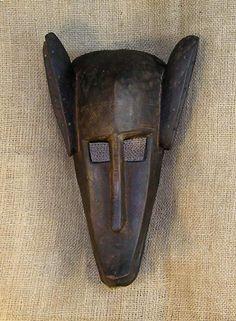 Masques africains - dogon Masque 13 - Front - Cliquez pour retourner en haut de la page.