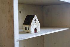 irish church - paper clay + paint