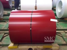 SMC offers different finishes of Prepainted Galvanized Steel Coil  . Application : construction, machines, transportation. http://www.shanghaimetal.com/Prepainted_Galvanized_Steel_Coil--pds257.html