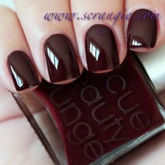 Dark chocolate-covered cherry creme.