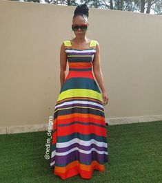 Multi colours Maxi @nedim_designs