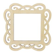 <div>This item is sold individually in store.<br><br>The Scroll Laser Cut Wood Frame by ArtMinds...