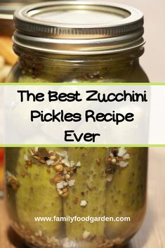 Zucchini Canning Recipes - Simply Delicious - These zucchini pickles are a fun and unique way to u Canned Zucchini, Zucchini Relish, Pickled Zucchini, Italian Zucchini Recipe, Italian Recipes, Easy Canning, Canning Recipes, Canning Tips, Bon Appetit