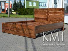 "łóżko ""Flip"" light walnut http://karinameble.pl/pl/p/lozko-FliP-akacja-160-cm.-light-walnut/3220"