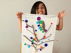 Two-Ingredient Tuesday: Buttons + Sticks = Lovely Button Tree