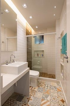 Interior design of a bathroom can either be made in the same style with the rest of the house design, or radically different from it.