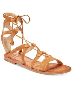 Frye Ruth Gladiator Lace-Up Sandals on ShopStyle