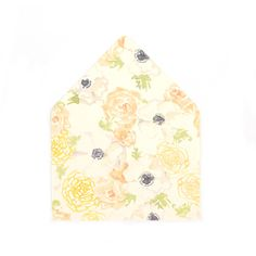 """Natalia"" Patterned A7 Envelope Liners, set of 10"