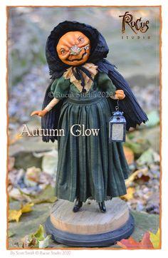 Rucus Studio Curiosity Shop Halloween Town, Vintage Halloween, Halloween Crafts, Dracula, Holiday Wishes, Holiday Fun, Handmade Lanterns, Scott Smith, Polymer Clay Figures