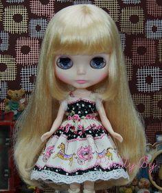 Blythe Dress set Merry Go Round for party