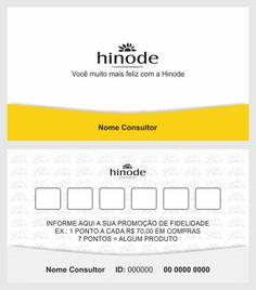 Cartão de visita Hinode 5